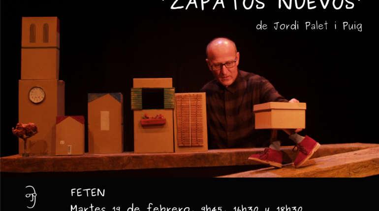 """Presentamos nuestra última creación """"Zapatos nuevos"""" en FETEN-Gijón"""