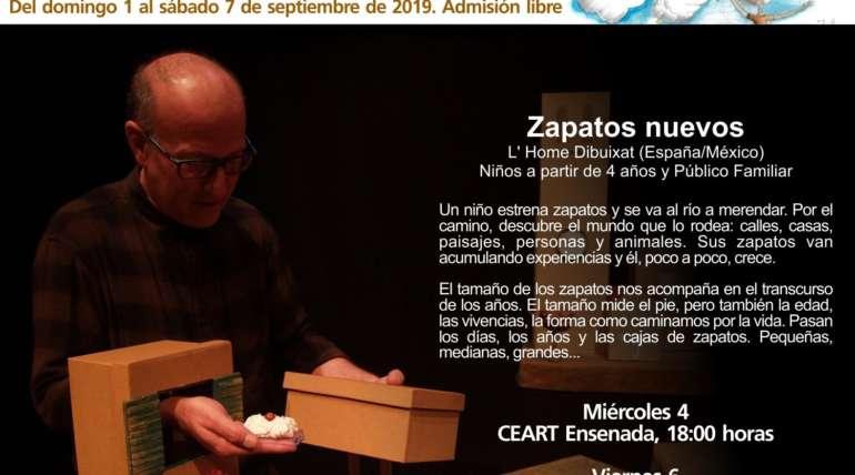 """""""ZAPATOS NUEVOS"""" se representará en México Baja-California los próximos 4, 6 y 7 de septiembre"""